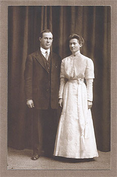 Harry and Myrtle Wedding, 1911